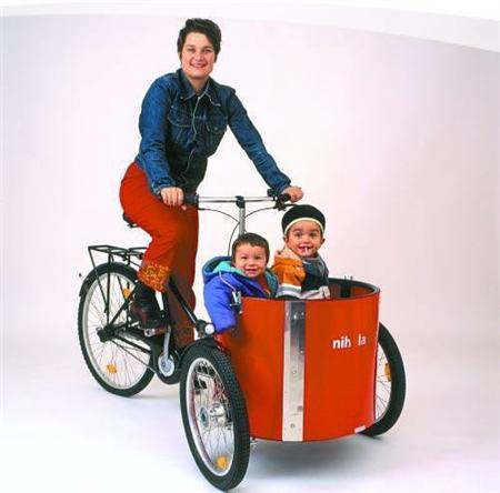 自転車の 三輪 自転車 電動 子供 : 犬も猫もフェレットも乗せられ ...